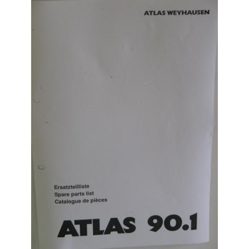 Atlas 90.1 Parts Manual
