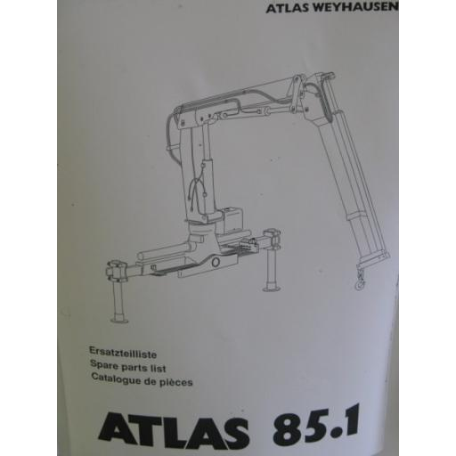Atlas 85.1 Parts Manual