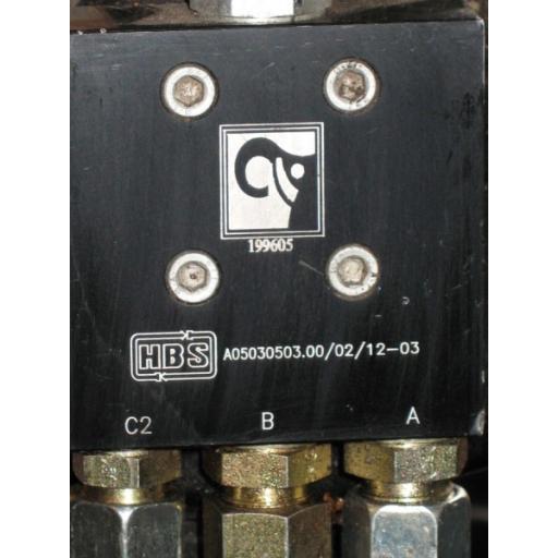 H199605 Leg Valve Hiab 055XS, Hiab 066XS