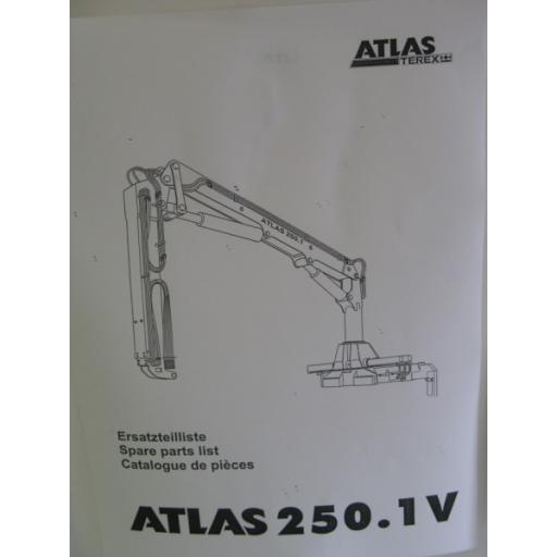Atlas 250.1V Parts Manual