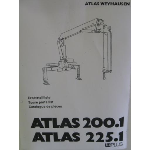 Atlas 200.1/225.1 Parts Manual