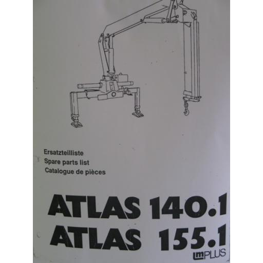 Atlas 140.1/155.1 Parts Manual