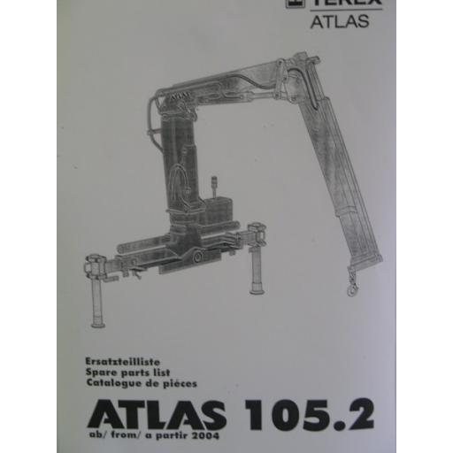 Atlas 105.2 Parts Manual