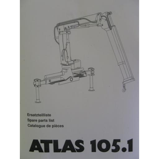 Atlas 105.1 Parts Manual
