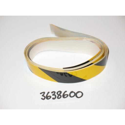H363 8600 Leg Beam Warning Decal