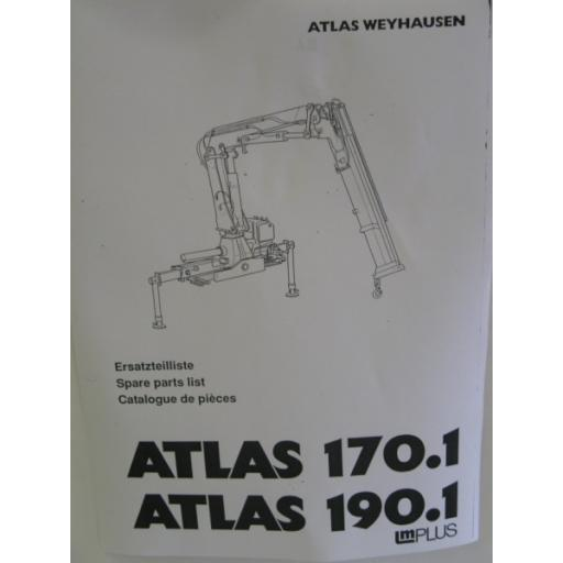 Atlas 170.1/190.1 Parts Manual