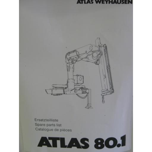 Atlas 80.1 Parts Manual