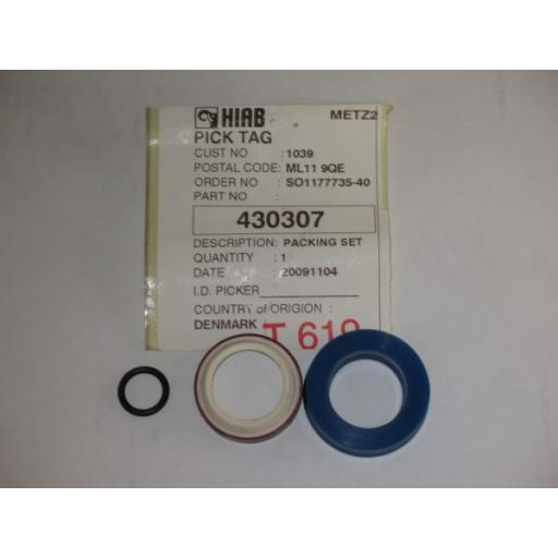 H430307 Hiab 50 Main Lift Seal kit