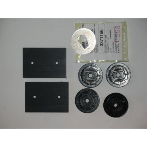 H337 1166 Hiab 650 A Slide pad kit