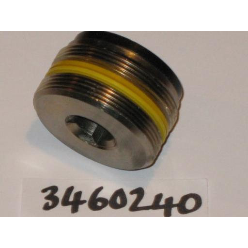 H346 0240 Adjusting Screw Hiab 140 Fine Thread