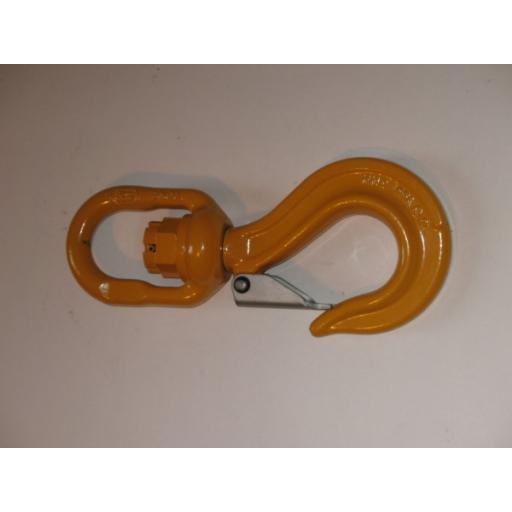 5t Swivel Hook with Safety Catch