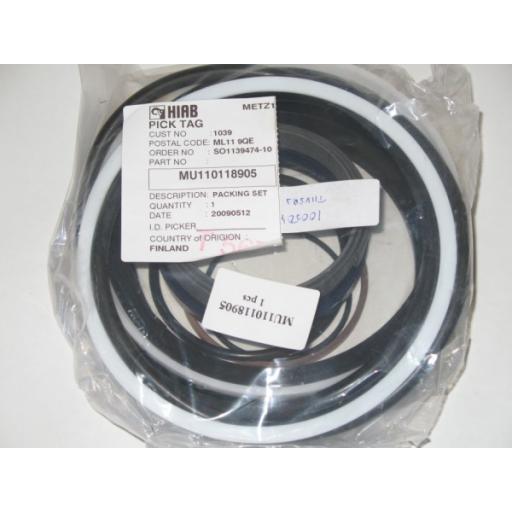 MU110118905 LHT/LHS 320 Main ram s/kit